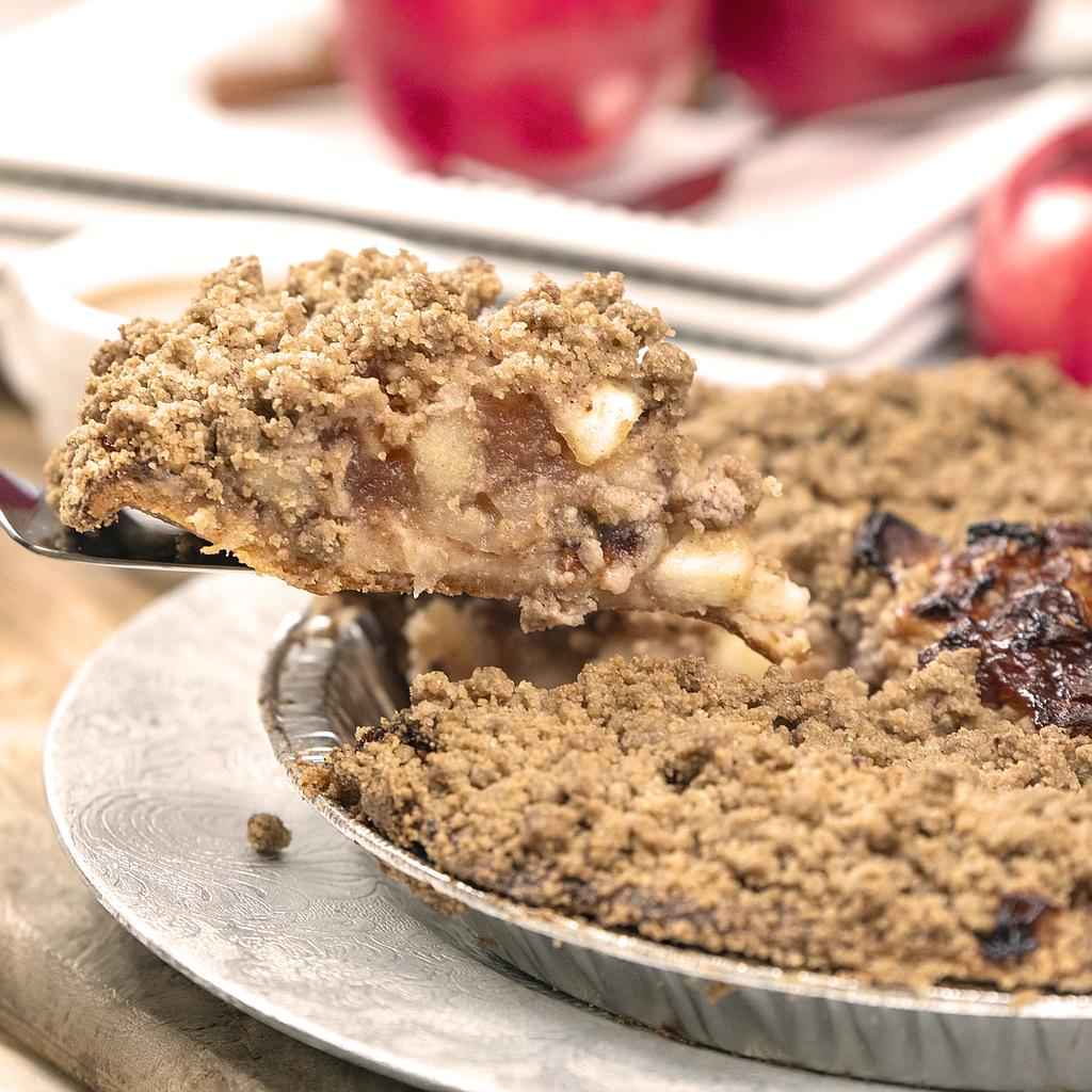 Apple Crumble Pie