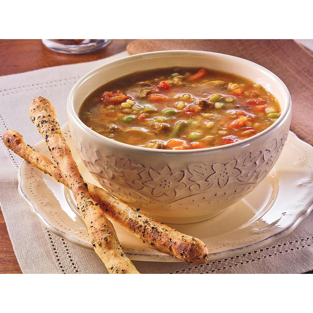 Beef Barley & Vegetable Soup