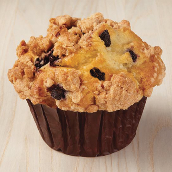 Blueberry Crumb Yogurt Muffin