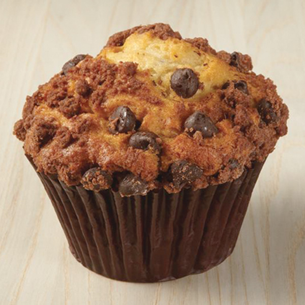 Banana Chocolate Chip Yogurt Muffin