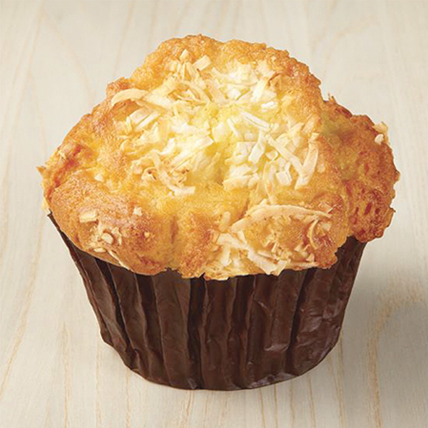 Pineapple Coconut Yogurt Muffin