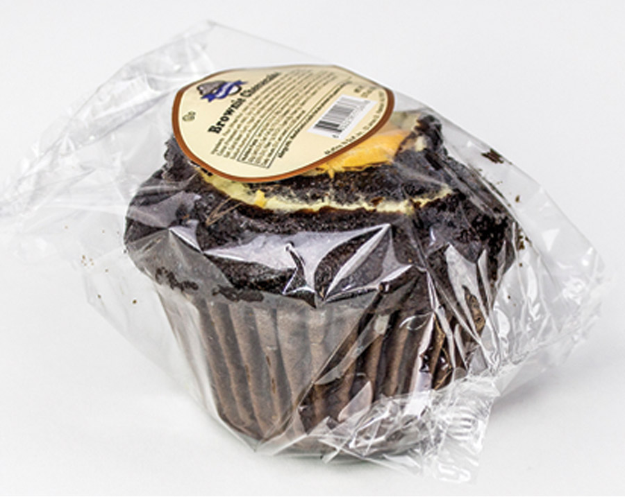 Pre-Wrapped Chocolate Cheese Muffin