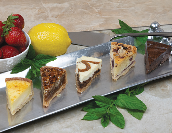 Mini Assorted Dessert Slices